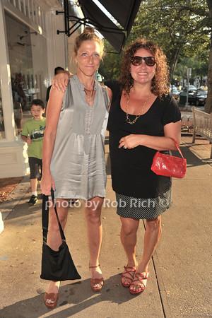 Edie Falco and Aida Turturro<br /> photo by Rob Rich © 2012 robwayne1@aol.com 516-676-3939
