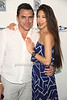 Chef Todd English and Candice Sonneman<br /> attend the RAND Luxury 3rd Annual Rolls-Royce Brunch at the Social Life Estate in Watermill. (July 21, 2012)<br /> Rob Rich/SocietyAllure.com