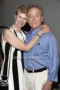 Martha Rogers and Dick Cavett attend a reading of Columbus & Amsterdam by Eugene Pack at Guild Hall in East Hampton. (August 17, 2012) photo credit: Rob Rich/SocietyAlllure.com