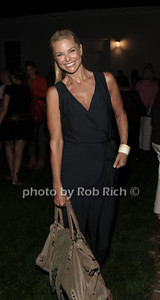 Christie Brinkley attends a reading of Columbus & Amsterdam by Eugene Pack at Guild Hall in East Hampton. (August 17, 2012) photo credit: Rob Rich/SocietyAlllure.com