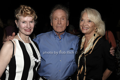 Martha Rogers, Dick Cavett, and Ruth Applebaum attend a reading of Columbus & Amsterdam by Eugene Pack at Guild Hall in East Hampton. (August 17, 2012) photo credit: Rob Rich/SocietyAlllure.com