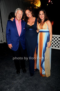 Owner of the New England Patriots Robert Craft, Camilla Olsson, and Tracey Doolin attend Russell Simmons Rush Philanthropic Arts Foundation 13th.Annual Art for Life benefit at the private residence of Russell Simmons in East Hampton (July 28, 2012). Rob Rich/SocietyAllure.com photo by Rob Rich/SocietyAllure.com © 2012 robwayne1@aol.com 516-676-3939