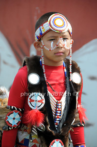Indian child particpates in  the 66th.Annual Shinnecock Pow Wow at the Shinnecock Indian Reservation in Southampton. (Septemeber 3, 2012) photo credit: Rob Rich/SocietyAllure.com