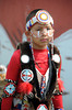 Indian child particpates in  the 66th.Annual Shinnecock Pow Wow at the Shinnecock Indian Reservation in Southampton.<br /> (Septemeber 3, 2012)<br /> photo credit: Rob Rich/SocietyAllure.com