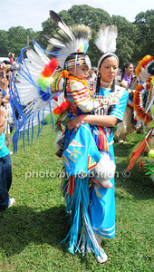 Mother and child participate  in  the 66th.Annual Shinnecock Pow Wow at the Shinnecock Indian Reservation in Southampton. (Septemeber 3, 2012) photo credit: Rob Rich/SocietyAllure.com