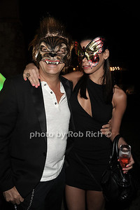 """Rocco Ancarola and Shariett Valentin attend Sir Ivan's release party for his new single and video """"La La Land"""" at the Sir Ivan's Castle in Water Mill.(August 18, 2012) photo credit: Rob Rich/SocietyAllure.com"""