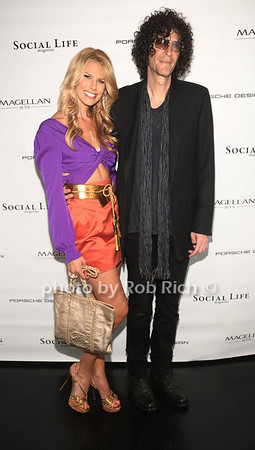 5-26-2012: Beth Ostrosky Stern and Howard Stern attend the Social Life Magazine Cover Party for Beth Ostrosky Stern at a private residence in Watermill.<br /> <br />  Rob Rich/SocietyAllure.com