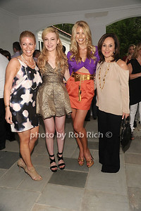 5-26-2012:Jill Martin, Devorah Rose, Beth Ostrosky Stern and Rosanna Scotto attend the Social Life Magazine Cover Party for Beth Ostrosky Stern at a private residence in Watermill.   Rob Rich/SocietyAllure.com