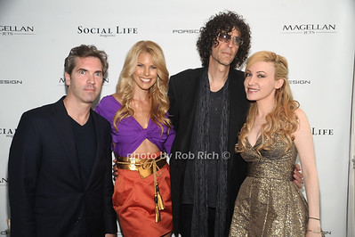 Justin Mitchell, Beth Ostrosky Stern, Howard Stern, Devorah Rose photo by Rob Rich/SocietyAllure.com © 2012 robwayne1@aol.com 516-676-3939