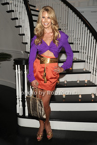 5-26-2012:Beth Ostrosky Stern poses at  the Social Life Magazine Cover Party for Beth Ostrosky Stern at a private residence in Watermill.