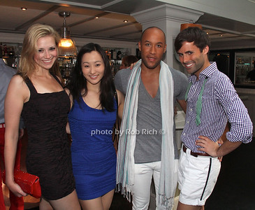 Christine Donnelly, Liza Wiley, Alex Cook, Jarman Rogers photo by M.Buchanan for Rob Rich© 2012 robwayne1@aol.com 516-676-3939
