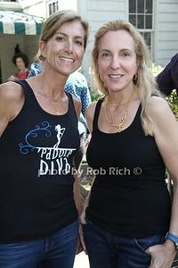 Gina Bradley and Sue Cohn Rockefeller