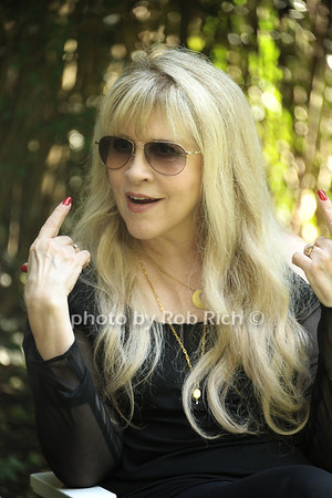 "Stevie Nicks being interviewed at the Maidstone Arms about ""In Your Dreams"" being shown at the HIFF in East Hampton. October 5, 2012.<br /> photo credit:Rob Rich/SocietyAllure.com"