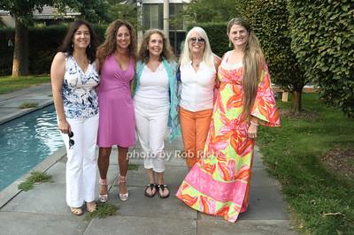 Daryl Schaefer, Jodi Stuart, Margie Steinman, Ellen Krass, Bonnie Comley photo by Rob Rich/SocietyAllure.com © 2012 robwayne1@aol.com 516-676-3939