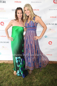 Housewives of New York Carole Radziwill and Aviva Drescher attend Super Saturday 15 to benefit the  Ovaian Cancer Research Fund at Nova's Ark in Water Mill. (July 28, 2012) Rob Rich/SocietyAllure.com