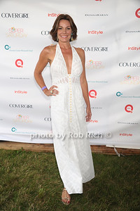 Countess Luann de Lesseps attends Super Saturday 15 to benefit the  Ovaian Cancer Research Fund at Nova's Ark in Water Mill. (July 28, 2012) Rob Rich/SocietyAllure.com
