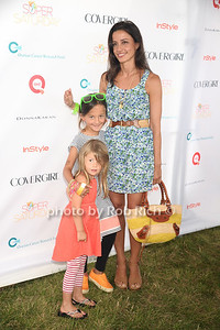 Shoshana Lonstein Gruss and children attend Super Saturday 15 to benefit the  Ovaian Cancer Research Fund at Nova's Ark in Water Mill. (July 28, 2012) Rob Rich/SocietyAllure.com