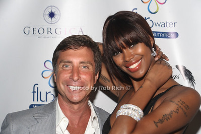 """5-27-2012:Jeweler Jeffrey Rackover and Jessica White attend Jessica White's""""Angel Wings Foundation"""" 3rd.Annual Dinner benefitting Somaly Mam at Georgica Restaurant. Rob Rich/SocietyAllure.com"""