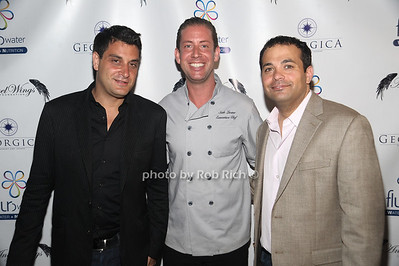 "5-27-2012:Dave Schulman, Seth Levine, and Antonio Fucccio  attend Jessica White's""Angel Wings Foundation"" 3rd.Annual Dinner benefitting Somaly Mam at Georgica Restaurant. Rob Rich/SocietyAllure.com"