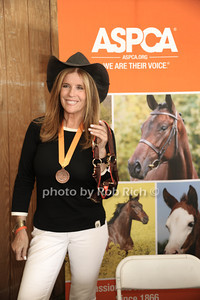 Jill Rappaport attends the 37th.Annual Hampton Classic Horseshow in Bridgehampton. (August 30, 2012) photo credit: Rob Rich/SocietyAllure.com