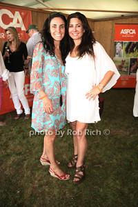 Sabrina Levine and  Mauri Pioppo attends the 37th.Annual Hampton Classic Horseshow in Bridgehampton. (August 30, 2012) photo credit: Rob Rich/SocietyAllure.com