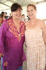 Patty Watt and Debra Scott attend the 37th.Annual Hampton Classic Horseshow in Bridgehampton. (August 30, 2012)<br /> photo credit: Rob Rich/SocietyAllure.com