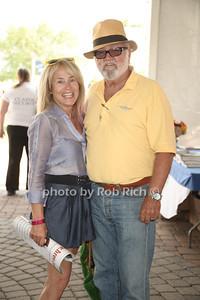 Bonnie Grice and Paul Howe attend the 37th.Annual Hampton Classic Horseshow in Bridgehampton. (August 30, 2012) photo credit: Rob Rich/SocietyAllure.com
