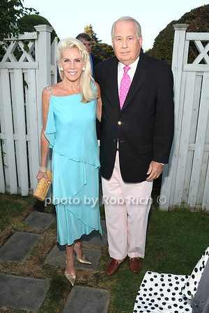 Cee Cee Black and Lee Black attend the 3rd Annual Unconditional Love benefit for the Southampton Animal Shelter Foundation at the private residence of Sandra McConnell in Southampton (July 21, 2012) Rob Rich/SocietyAllure.com