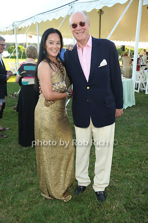 Cassandra Seidenfeld Lyster and Robert Lyster attend the 3rd Annual Unconditional Love benefit for the Southampton Animal Shelter Foundation at the private residence of Sandra McConnell in Southampton (July 21, 2012) Rob Rich/SocietyAllure.com