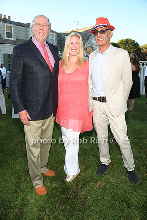 Jonathan McCann, Anik Libby, Coppy Holtzman attend the 3rd Annual Unconditional Love benefit for the Southampton Animal Shelter Foundation at the private residence of Sandra McConnell in Southampton (July 21, 2012) Rob Rich/SocietyAllure.com