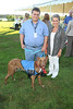 """Mark Ambrico,""""Smokey"""", and Dorothy Frankel attend the 3rd Annual Unconditional Love benefit for the Southampton Animal Shelter Foundation at the private residence of Sandra McConnell in Southampton (July 21, 2012)<br /> Rob Rich/SocietyAllure.com"""