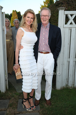 Ellen Scarborough and Chuck Scarborough attend the 3rd Annual Unconditional Love benefit for the Southampton Animal Shelter Foundation at the private residence of Sandra McConnell in Southampton (July 21, 2012) Rob Rich/SocietyAllure.com