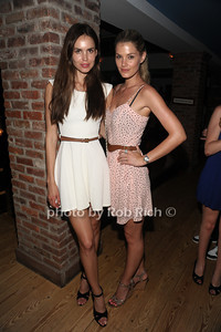 Marike Besos and Shamone Jarzin attend the 4th of July party at the Player's Club in East Hampton (July 4, 2012). photo by Rob Rich/SocietyAllure.com