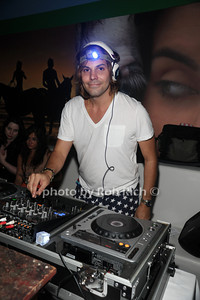 DJ Lee Kalt attend the 4th of July party at the Player's Club in East Hampton (July 4, 2012). photo by Rob Rich/SocietyAllure.com