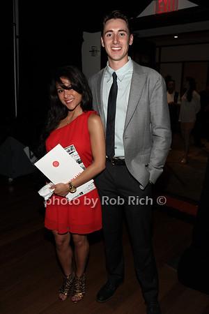 "6-2-2012: Ingrid Cardona and Jasper Creegan attend the  ""9th.Annual Live @Clubstarlight"" at the Ross School in Easthampton on June 2, 2012.<br /> Rob Rich/SocietyAllure.com"