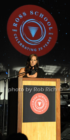 "6-2-2012: Designer Donna Karan attends the  ""9th.Annual Live @Clubstarlight"" at the Ross School in Easthampton on June 2, 2012.<br /> Rob Rich/SocietyAllure.com"
