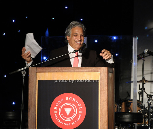 """6-2-2012: Master of Ceremonies Dr.Gerald Curatola attends the  """"9th.Annual Live @Clubstarlight"""" at the Ross School in Easthampton on June 2, 2012.<br /> Rob Rich/SocietyAllure.com"""
