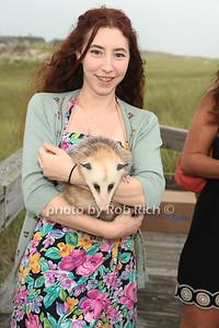 Charlie Baily, Blossom the Opossum photo by Rob Rich/SocietyAllure.com © 2012 robwayne1@aol.com 516-676-3939