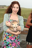 Charlie Baily, Blossom the Opossum<br /> photo by Rob Rich/SocietyAllure.com © 2012 robwayne1@aol.com 516-676-3939