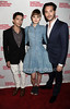 John Magaro, Bella Heathcote, and Jack Huston
