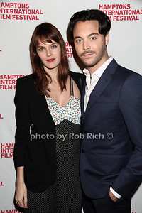 "Shannon Click and Jack Huston HIFF movie premiere of ""Not Fade Away"" Arrivals East Hampton, USA 10-7-12"