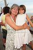 Eileen Aivaliotis and Sophia Aiavliotis enjoy the Beach Concert Series at Gurney's Inn in Montauk.(July 7, 2012)<br /> Rob Rich/SocietyAllure.com
