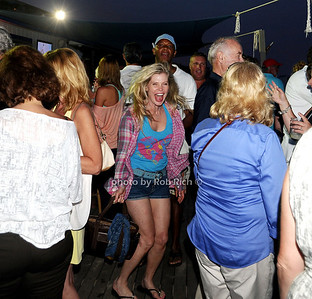 Cindy Guyer enjoys the Beach Concert Series at Gurney's Inn in Montauk.(July 7, 2012) Rob Rich/SocietyAllure.com