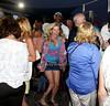 Cindy Guyer enjoys the Beach Concert Series at Gurney's Inn in Montauk.(July 7, 2012)<br /> Rob Rich/SocietyAllure.com