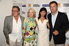 Freddie Stollmack, Ruth Applebaum, Hilaria Thomas Baldwin, Alec Baldwin attend the Movie Sceening of Searching for Sugar Man at Guild Hall in East Hamptonn. (July 6,2012)<br /> photo by Rob Rich/SocietyAllure.com