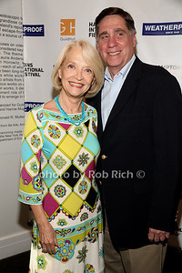 Ruth Applebaun and Gary Adamak attend the Movie Sceening of Searching for Sugar Man at Guild Hall in East Hamptonn. (July 6,2012) photo by Rob Rich/SocietyAllure.com