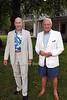 Tony Newman, Dick Huebner photo by R.Cole for Rob Rich  © 2012 robwayne1@aol.com 516-676-3939