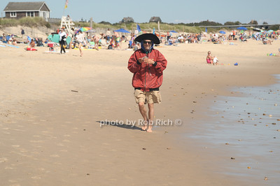 Strolling along  the beach in  Ditch Plains in Montauk on September 16, 2012. photo credit: Rob Ricch\SocietyAllure.com