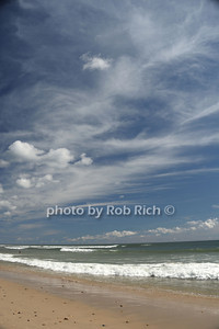 Beautiful sky and sea at the beach in  Ditch Plains in Montauk on September 16, 2012. photo credit: Rob Ricch\SocietyAllure.com