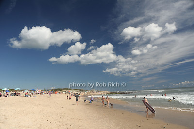 The Scene at the beach in  Ditch Plains in Montauk on September 16, 2012. photo credit: Rob Ricch\SocietyAllure.com
